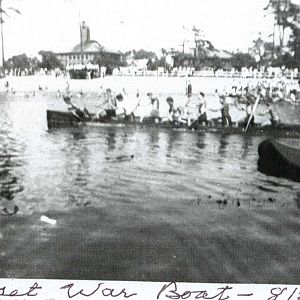 Samoset Canoe Club War Canoe Races 8.21.1938